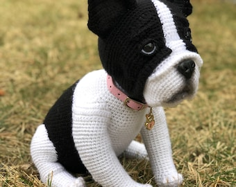 French bulldog toy (crochet)