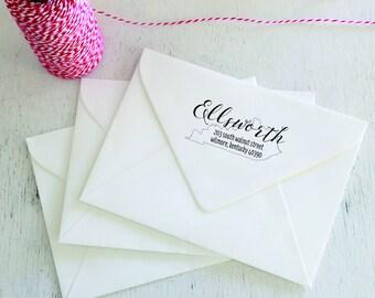 Kentucky - Personalized Self-Inking Return Address Stamp