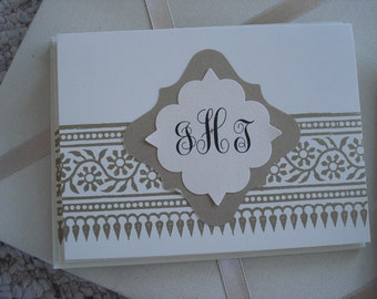 Gold Detail on Creme Informals  Five for Five