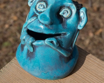 Mini-Monster Bank from Clay Creature Comforts