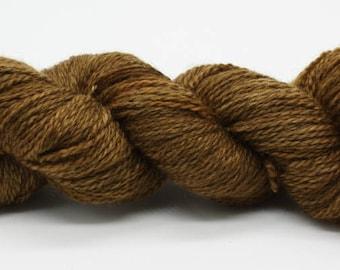 Hand Dyed DK British BFL & Masham Wool Yarn - Wood Grain