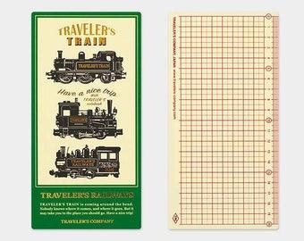 Travelers Notebook 2018 Plastic Sheet Regular Size