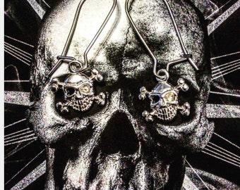 Pirate/ Skull and Crossbone Earrings