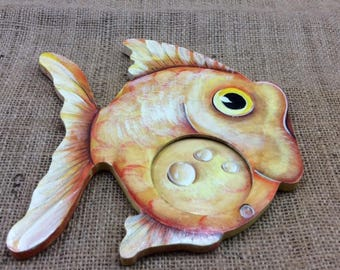 Child's Photo Frame - Fish Shape