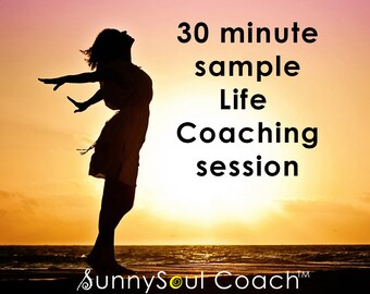 Sample Life Coaching Session 30 minutes, SunnySoul Coach, Stress Relief, Calming, Increase Focus, Emotional Freedom, EFT, Tapping, Meridians
