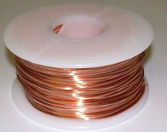 WIRE WRAPPING COPPER wire  24ga 1lb. 818ft. (h / h) solid bare bright copper