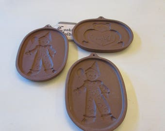 OHIO ROSEVILLE COOKIE Molds