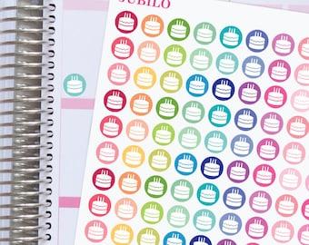 Planner Stickers Birthday Dots