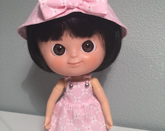 Pink summer hat and dress