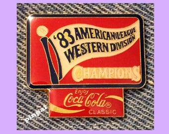 1983 American League Western Division Champions~White Sox~MLB~Baseball~Coca Cola