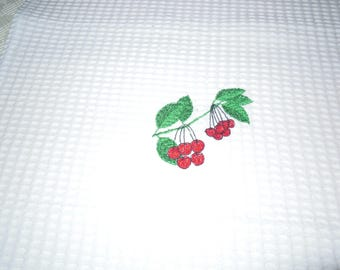 set of 3 d bee white nest kitchen towel