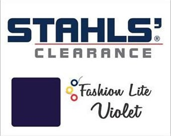 "12"" x 5 Yards - Stahls' Fashion-LITE - Smooth- Craft Roll - Iron-on  Heat Transfer Vinyl - HTV - Violet"
