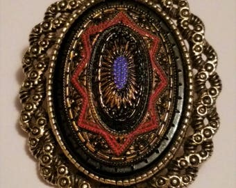 Sarah Coventry Old Vienna Brooch/Pendant