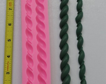 Rope Silicone Mold 2 styles