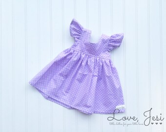 Purple Girls Dress, Newborn Easter Dress, Toddler Girls Dresses, Little Girls Dresses, Girls Spring Dresses, Girls Purple Easter Dress