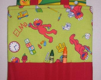 Elmo Crayon Tote