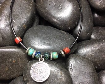 Protective Eye beaded Necklace