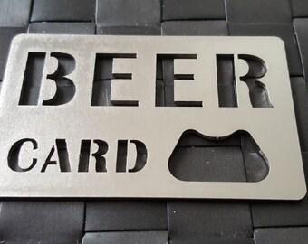Beer Card Bottle Opener