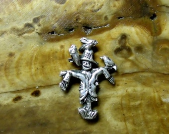 SCARECROW Mans Stud Earring Free Shipping