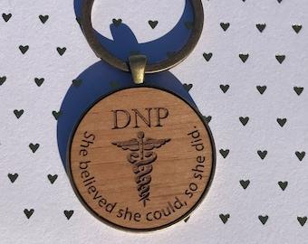 DNP Keychain