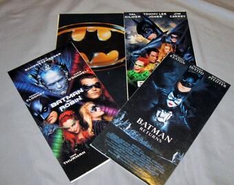 Batman pour ordinateur portable - VHS recyclé cas - vous choisissez le titre