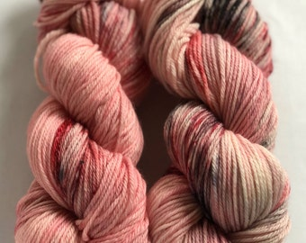 Cherry City- 100% Superwash Merino, worsted weight wool