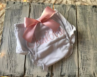 Personalized Baby Bloomers