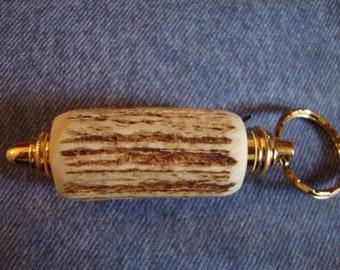 Key Chain Deer Antler, Vintage