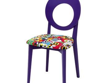 Pop Art Purple Frooty Tooty by Jon Burgerman