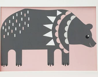 Soft Pink Bear