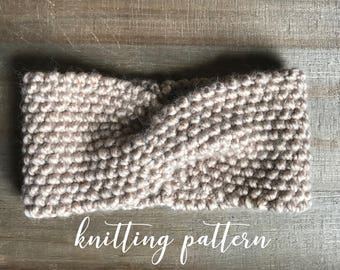 SHILOH TURBAN || Knitting Pattern