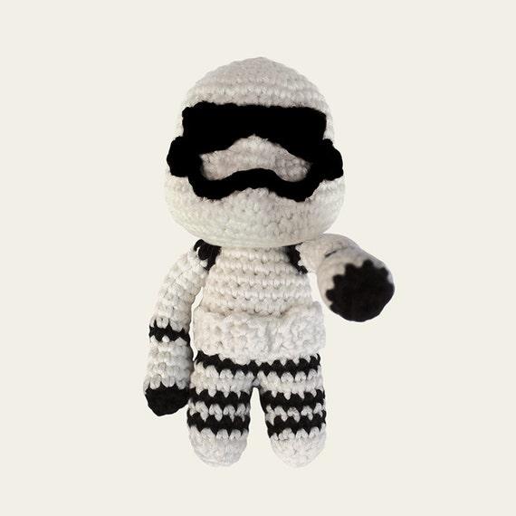Stormtrooper - Star Wars. Amigurumi Pattern PDF.