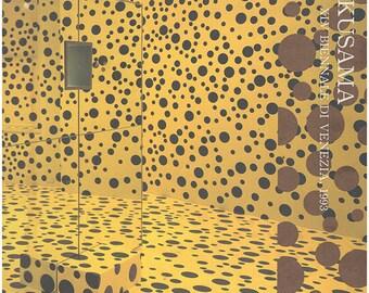 Yayoi Kusama: Giappone--XLV Biennale di Venezia, 1993. Illustrated throughout. Text in English.  (28574)
