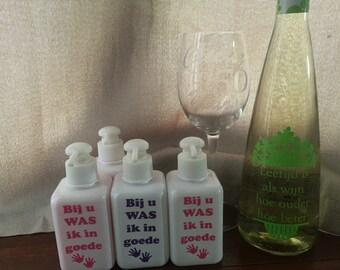 Hand soap Wedding Favor