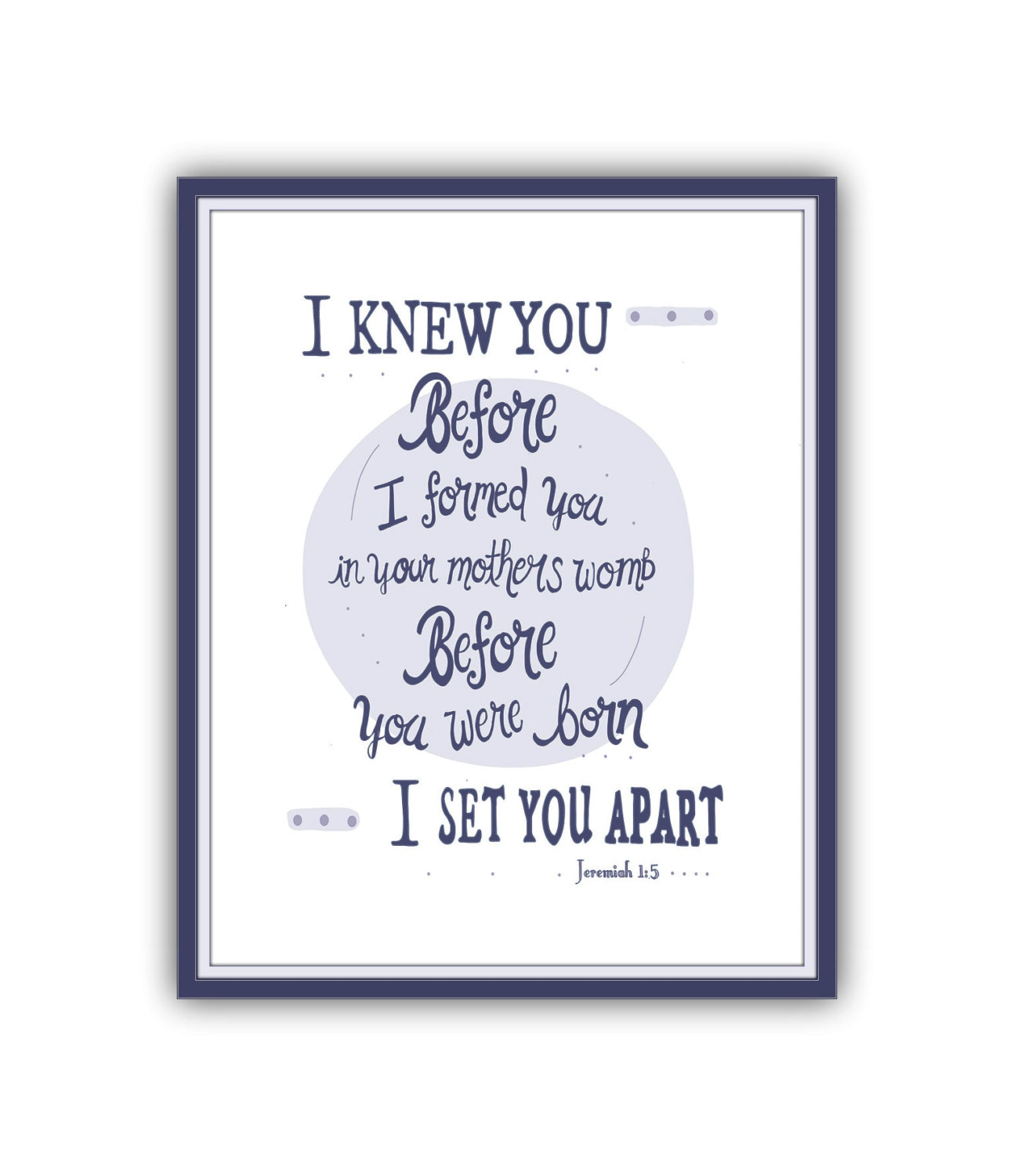 Bible Quotes About Mothers Download Print Bible Verse Printable I Knew You Before Formed