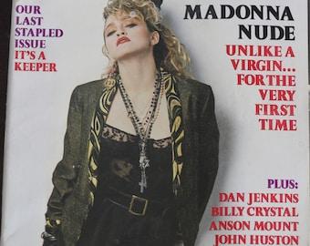 Vintage 1985 Madonna Playboy