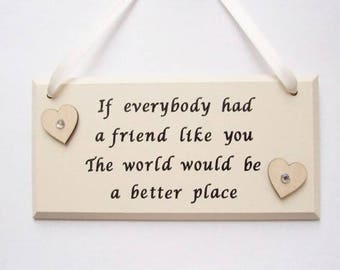 Friendship quote etsy best friend thecheapjerseys Images