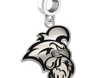 Coastal Carolina Chanticleers Dangle Charms | Sterling Silver | Several Styles and Sizes | Officially Licensed | Fits Bead Charm Bracelets