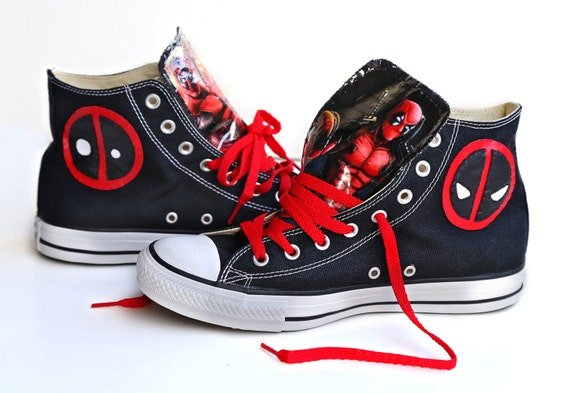 Deadpool. Converse. Enough said.