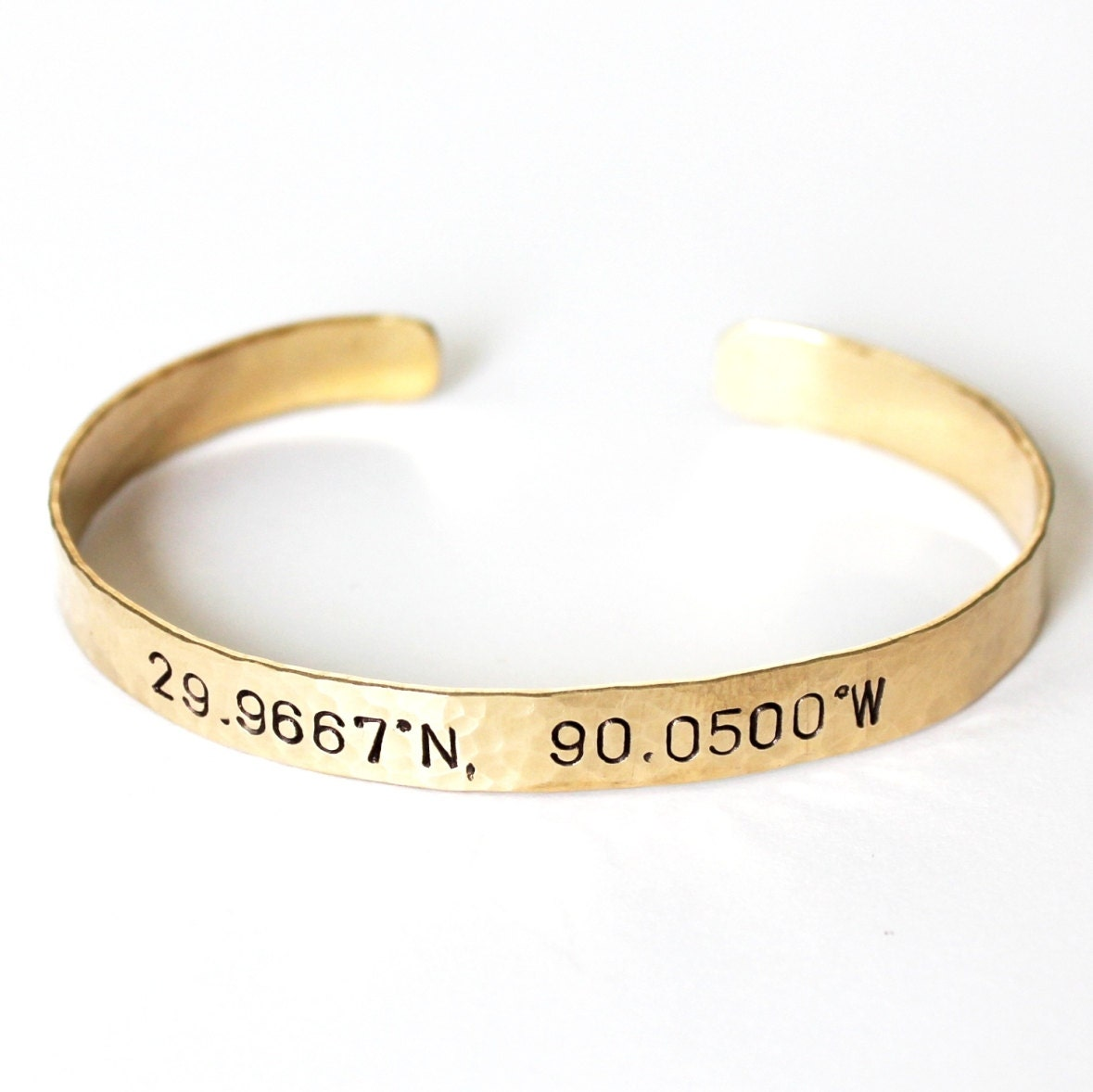 fullxfull coordinates custom bracelet for products coordinate brace gift small girlfriend original il