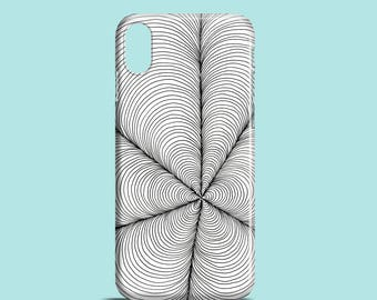 Petal Web mobile phone case / iPhone X, iPhone 8, iPhone 7, 7 Plus, iPhone SE, iPhone 6S, iPhone 6, iPhone 5/5S / graphic phone cover