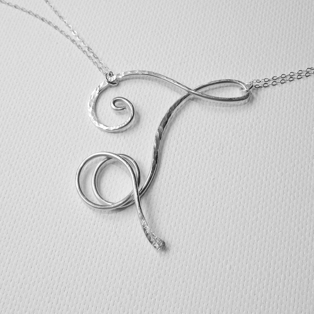 pendant petite round silver monte letter t necklace initial trade christo product disc vrp corp sterling