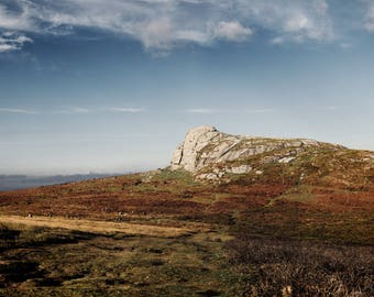 "Haytor on Dartmoor, Devon. Large Panoramic Fine Art Landscape Photography. Up to 42"" x 21"" (106.6 x 53.3cm)"