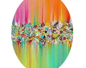 30x40mm cabochon abstract 3