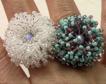 Coral Flower Ring Kit