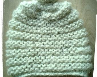Children hat in pure wool from Ireland, silk and alpaca