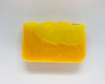 Citrus Burst Litsea Cubeba Soap (All Natural Soap, Handmade Soap, Cold Process Soap, Vegan, Bar Soap)