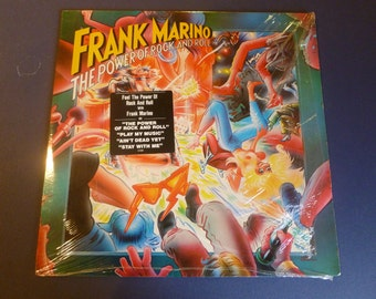 Frank Marino The Power Of Rock And Roll Vinyl Record FC 37099  1981