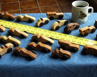 Peanut Cars (wooden toy car)