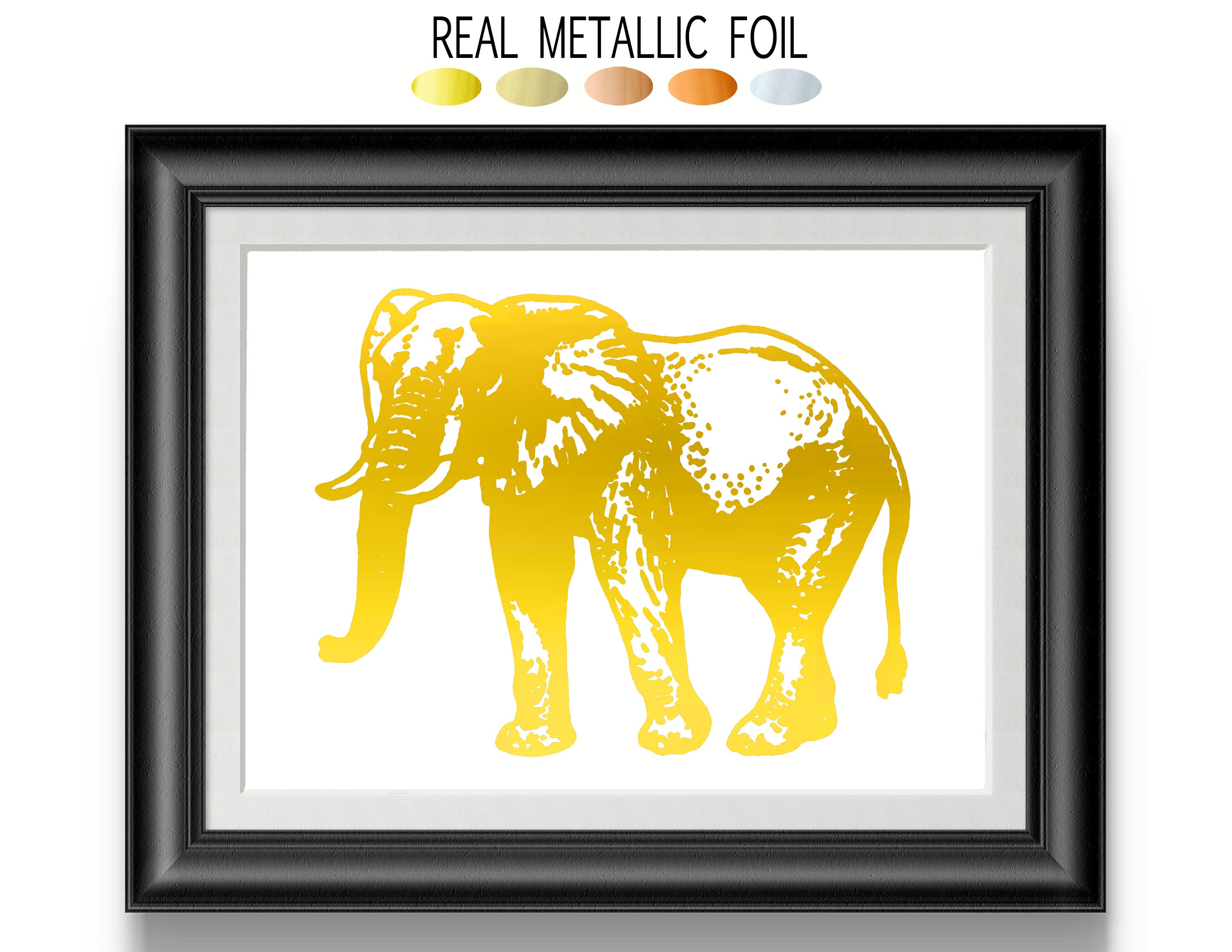 Magnificent Elephant Wall Art Gallery - The Wall Art Decorations ...